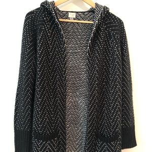 New Day hooded pocketed sweater